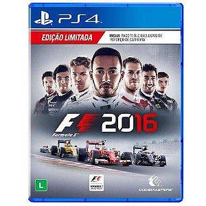 Jogo Fórmula 1 2016 - PS4