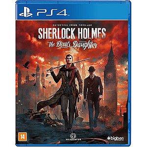 Jogo Sherlock Holmes The Devil's Daughter  - PS4