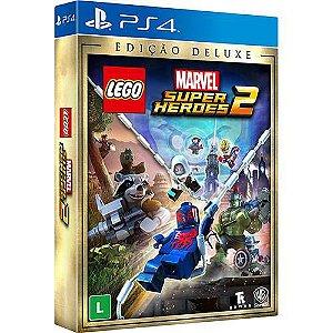 Jogo Lego Marvel Super Heroes 2 Deluxe Edition- Playstation 4