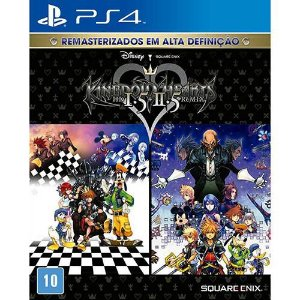 Jogo Kingdom Hearts HD 1.5 + 2.5 Remix - Ps4 - Playstation 4