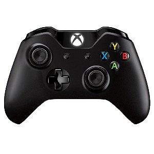 Controle Wireless Xbox One Preto - Microsoft