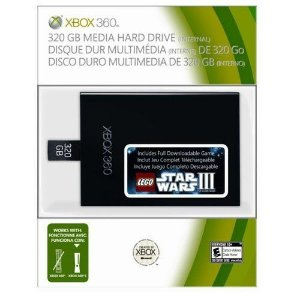 HD 320Gb XBOX 360 Slim e Super Slim - Microsoft