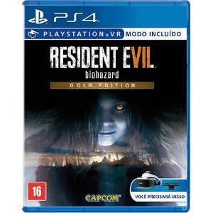 Jogo Resident Evil 7 Biohazard Gold Edition - PS4 - Playstation 4