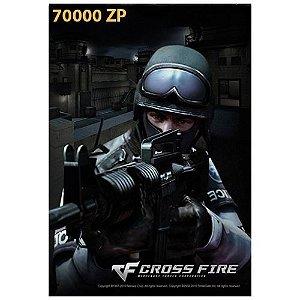 Cartão Crossfire Crédito 70000 ZP