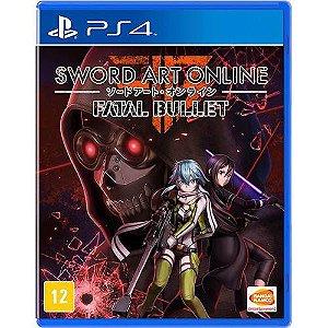Jogo Sword Art Online - Fatal Bullet - PlayStation 4