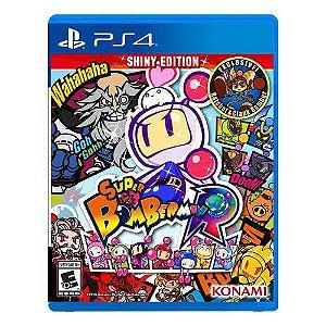 Jogo Super Bomberman R Shiny Edition- Ps4 - PlayStation 4