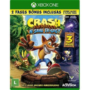 Jogo Crash Bandicoot N'sane Trilogy - Xbox One