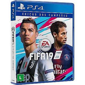 Jogo Fifa 19 Edição dos Campeões - PS4 - Playstation 4