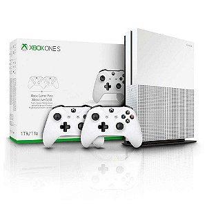 Console Microsoft Xbox One S 1Tb com 2 Controles