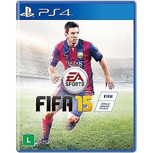 Jogo FIFA 15 - Play Station 4 - Totalmente em Português
