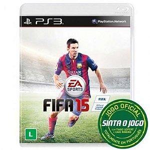 Jogo FIFA 15 - Play Station 3 - Totalmente em Português