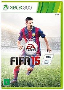 Jogo FIFA 15 - Xbox 360 - Totalmente em Português