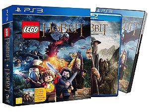 Jogo Lego Hobbit  + Filme Hobbit: Uma Jornada Inesperada - PlayStation 3 - PS3