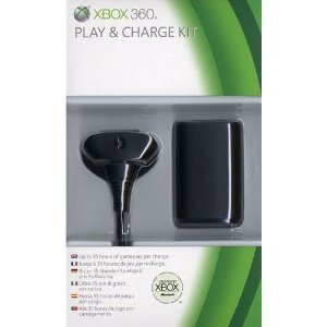Kit Play & Charge Xbox 360 - Bateria E Carregador - Microsoft
