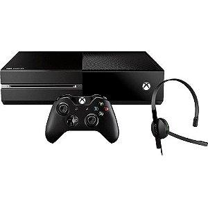Console Xbox One Microsoft 500gb Headset Hdmi