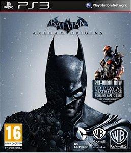 Jogo Batman: Arkham Origins - PS3 - PlayStation 3