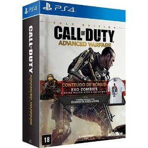 Jogo Call of Duty: Advanced Warfare Gold Edition - PS4 - PlayStation 4