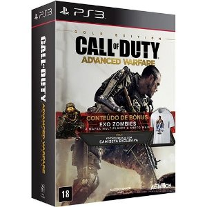 Jogo Call of Duty: Advanced Warfare Gold Edition - PS3