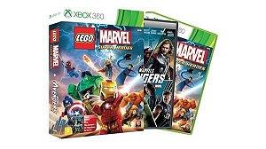 Jogo Xbox 360 LEGO Marvel Super Heroes - Ganhe Filme The Avengers: Os Vingadores