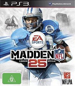 Jogo Madden NFL 25 - PS3 - PlayStation 3