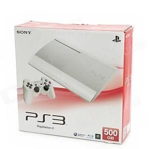 Playstation 3 Super Slim Branco 500gb Hdmi 3d Blu-ray Bivolt