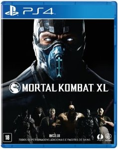 Jogo Mortal Kombat XL - PlayStation 4 - PS4