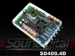 Módulo Soundigital SD400.4d