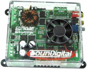 Módulo Soundigital Sd250.2d e Sd250.1d