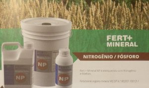 Fertilizante Fert + Mineral Nitrogênio / Fósforo (NP) - 100 ml - Concentrado