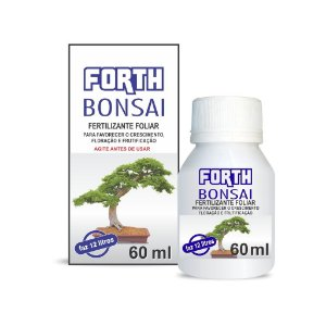 Fertilizante Forth Bonsai 60 ml - Concentrado