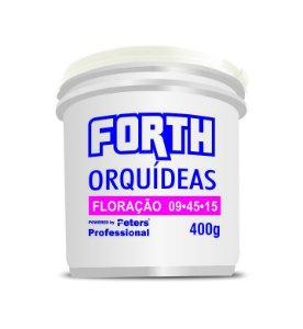 Peters Fertilizante granulado Forth Orquídeas - 09.45.15 - 400 Gr