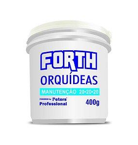 Rosa do Deserto - Fertilizante granulado Forth Orquídeas - 20.20.20 - 400 Gr