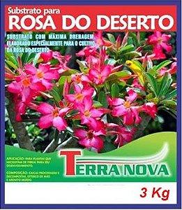 Substrato próprio para Rosas do Deserto - 3Kg (7 Litros)