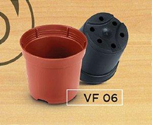 Kit com 500 vasos nº 06 - Preto
