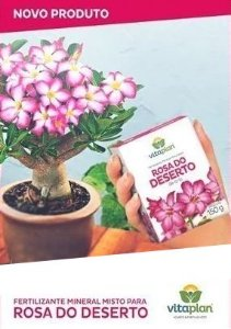 Fertilizante Rosas do Deserto - 150 Gr