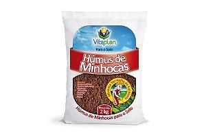 Rosa do Deserto - Humus de Minhoca - 2 Kg