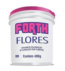 Rosa do Deserto - Fertilizante granulado Forth Flores 400 gr Fracionado