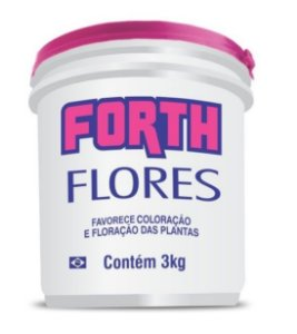 Rosa do Deserto - Fertilizante granulado Forth Flores 3 Kg