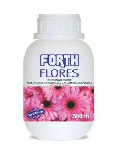 Rosa do Deserto - Fertilizante Forth Flores 500 ml - Concentrado