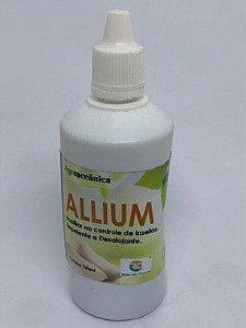 Allium - Extrato de óleo de alho 100 ml concentrado. Auxilia no controle de pragas.