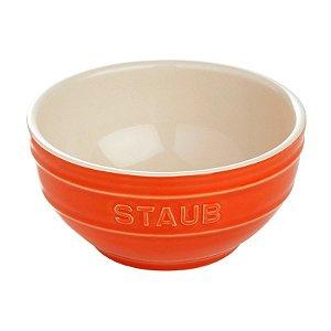 Bowl Cerâmica Esmaltada Laranja 17 cm 1,25 L | Staub