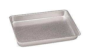 Assadeira de Alumínio Comum Nº 3 - 40 x 27 x 4,5 cm