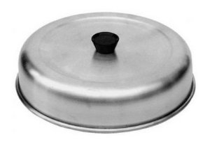 Abafador de Alumínio para Hambúrguer / Beirute Ø 22 cm
