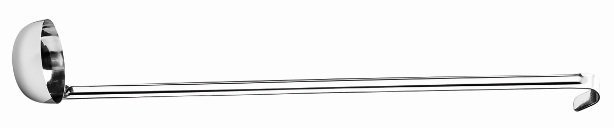 Concha para Molho Arienzo Aço Inox 31,5 cm | Brinox
