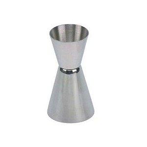 Dosador Aço Inox 2 Medidas 25 e 50 ml