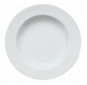 Prato Fundo de Porcelana com Aba Linha Capri Ø 23 cm | Germer