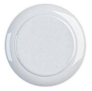 Prato Bolo de Porcelana com Aba Reforçada Linha Versa Ø 30 cm   Germer