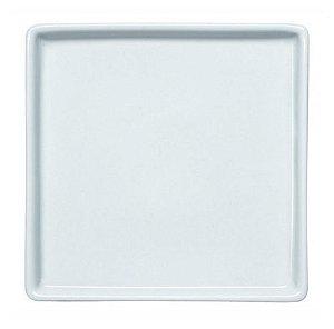 Prato Raso de Porcelana Linha Americana 27,5 x 27,5 cm | Germer