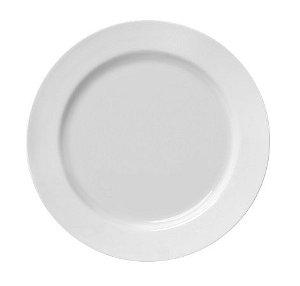 Prato de Porcelana Raso Linha Capri Ø 25,5 cm | Germer