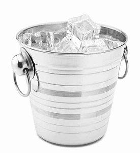 Balde para Gelo Aço Inox 0,8 Litros | Hércules